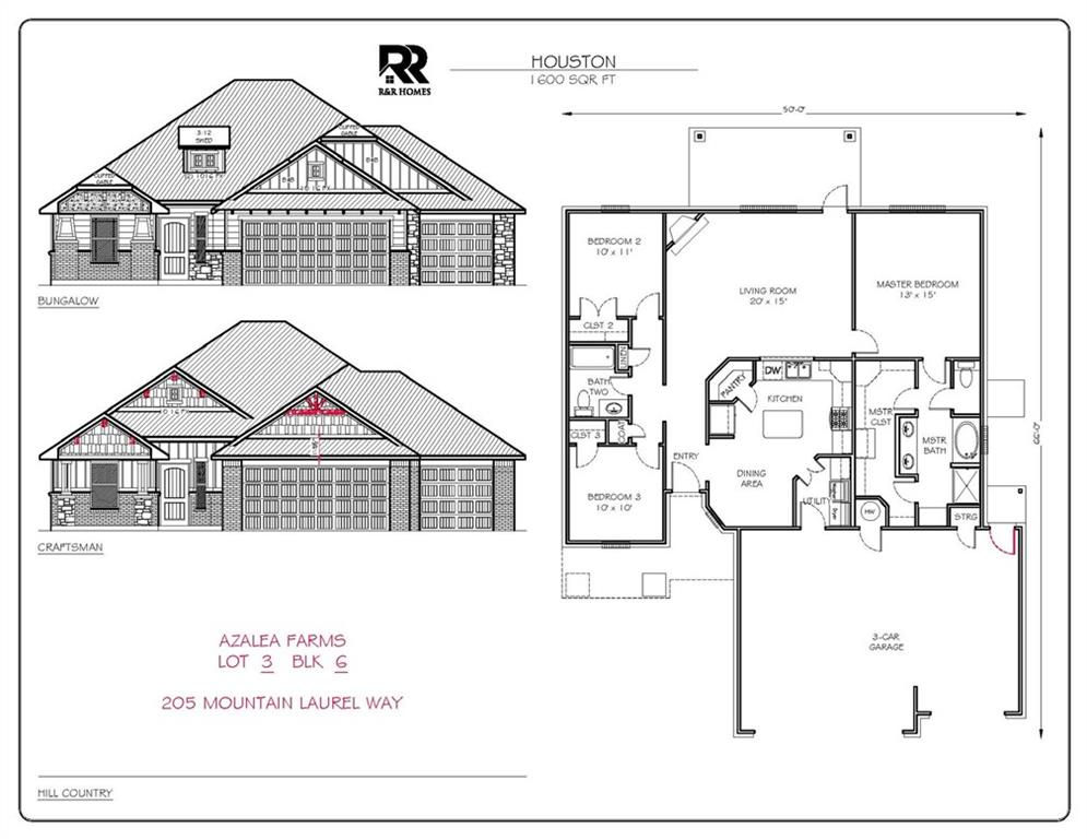 205 Mountain Laurel Way, Noble, Oklahoma, 3 Bedrooms Bedrooms, ,2 BathroomsBathrooms,House,For Sale,205 Mountain Laurel Way,1039